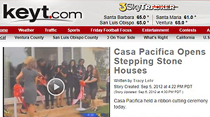 Casa Pacifica Opens Stepping Stone Houses
