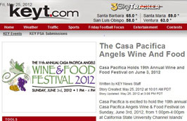 Casa Pacifica Holds 19th Annual Wine and Food Festival on June 3, 2012