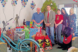 Consumer's Title holiday donations to Casa Pacifica