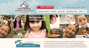 Casa Pacifica Honored With Prestigious Web Marketing Award