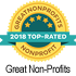 Top Rated 2018 Great Non Profits