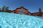 The Casa Pacifica pool is used for a variety of therapeutic events.