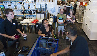 Casa Pacifica benefits from Container Store grand opening