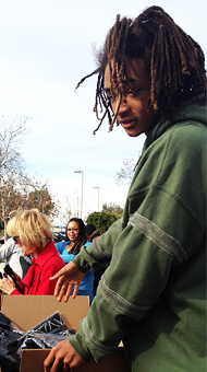 Jaden Smith Personally Delivers Holiday Gifts To A Safe House