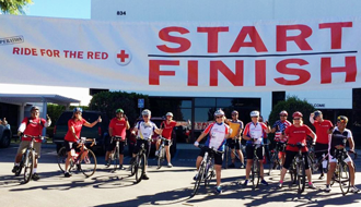 Volunteer honored for spearheading charity ride