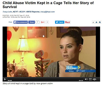 Child Abuse Victim Kept in a Cage Tells Her Story of Survival