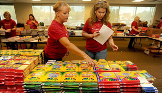 Ventura County families get help with school supplies