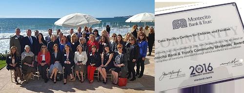 Montecito Bank & Trust Community Dividends Awards Casa Pacifica